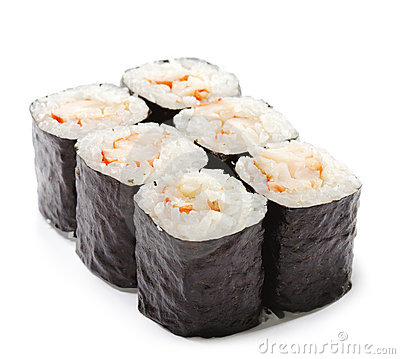 Japanese Cuisine - Shrimp Roll