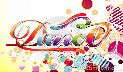 Dance vector illustration