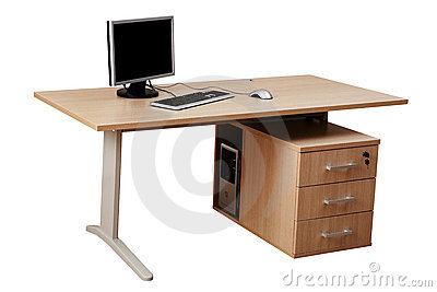 Table and computer