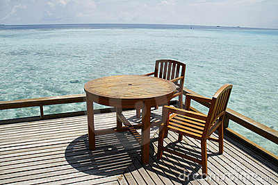 Seaside Breakfast table