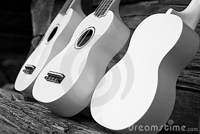 White guitars