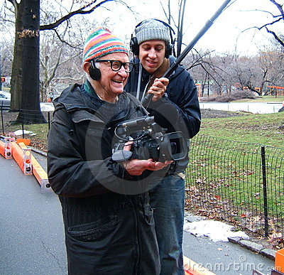 Albert Maysles Filming The Gates Documentary