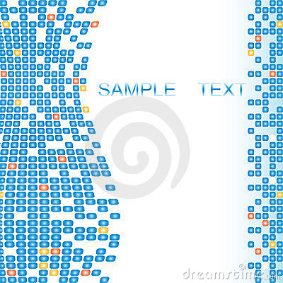 Mosaic background texture