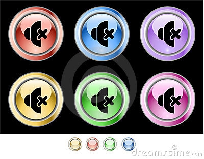 Color web buttons