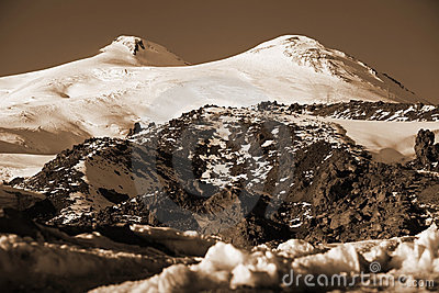 Mountain Elbrus