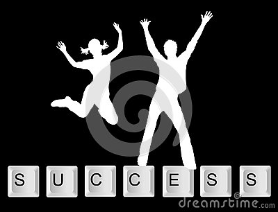 Key background success with people