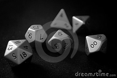 Stainless Steel Polyhedral Dice