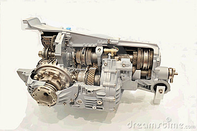 Internal structure of engine