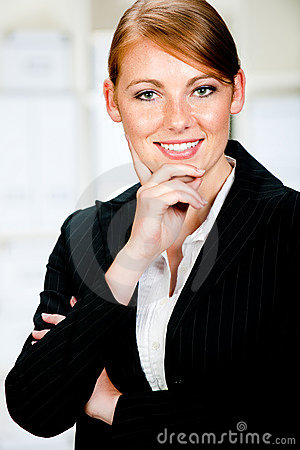 Caucasian Businesswoman