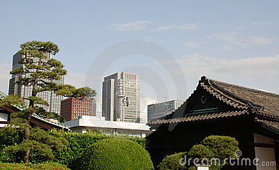 Imperial Palace Gardens Buildings, Tokyo