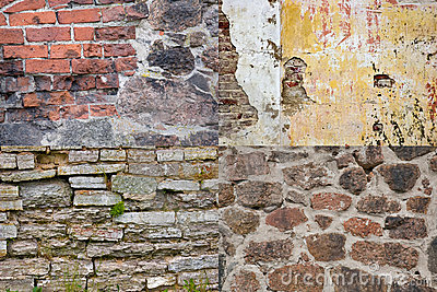 Brick wall textures collection