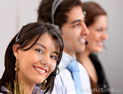 Customer support group