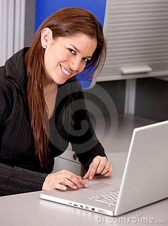 Online business woman