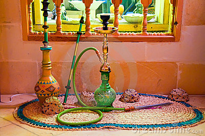 Middle Eastern Hookah (Hubbly Bubbly Pipes)