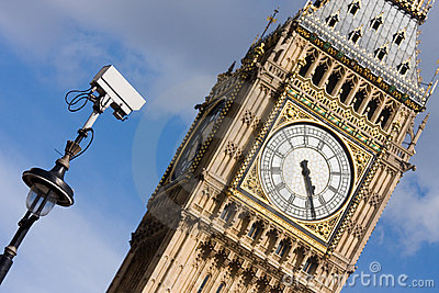 CCTV looking at Big Ben