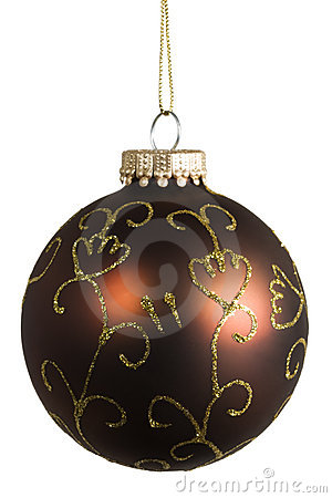 Ornate christmas bauble