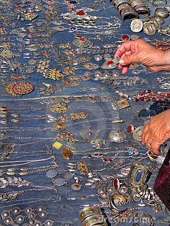 Oriental bazaar objects - jewelry