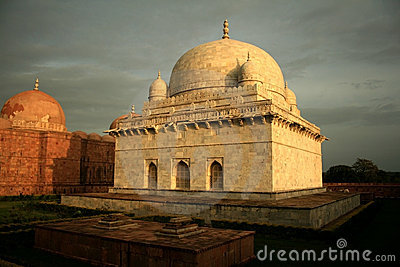 A historic Tomb of Sultan Hoshang Shah, India