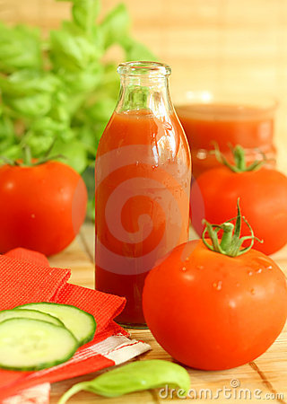 Tomato and juice