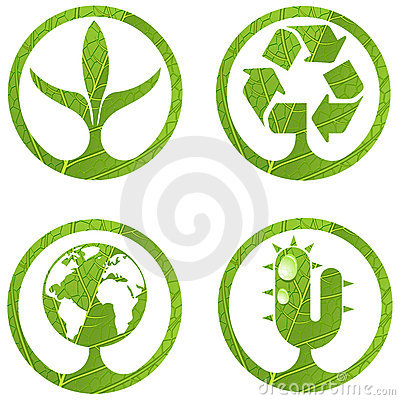 Eco signs. Set 2.