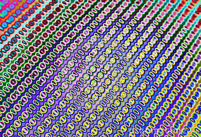 Virus on binary code abstract