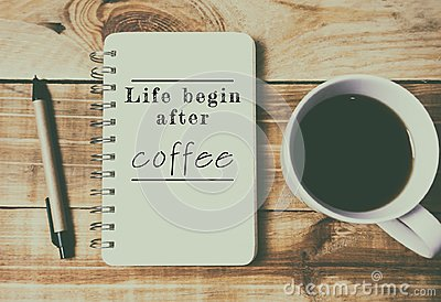 Quotes Life Begin After Coffee