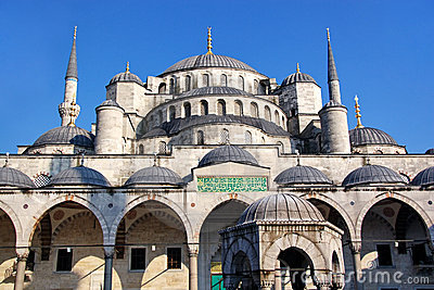 Dome of Blue Mosque