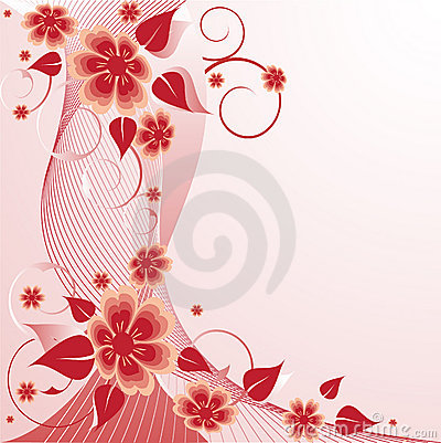 Rose Floral Background