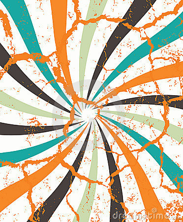 Abstract fancy circular illustration raster