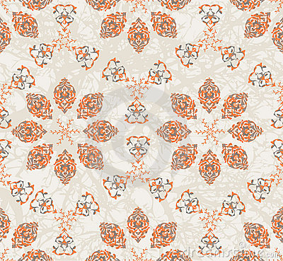 Traditional ottoman turkish seamless design