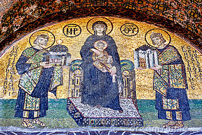 Offering Constantinople