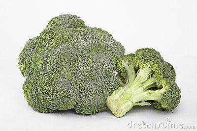 Two broccoli