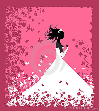 Bride. Wedding illustration