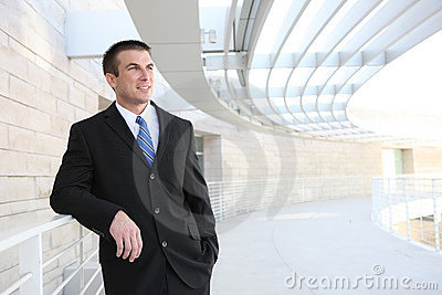 Business Man at Office