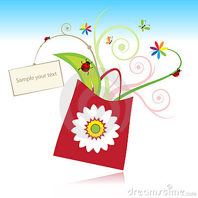 Summer gift with card