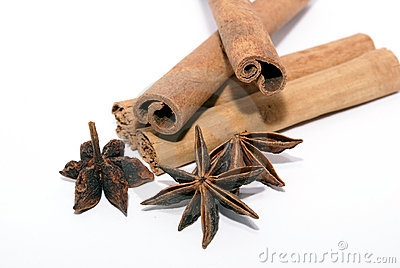 Cinnamon and star-anise