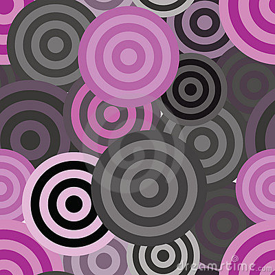 Seamless circle pattern