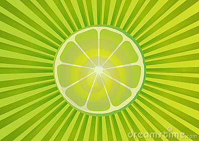 Fresh lime background