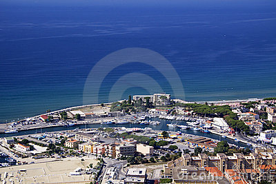 Terracina from above