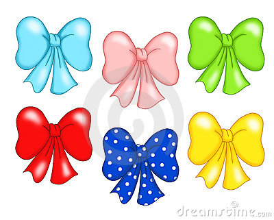 Colored bow