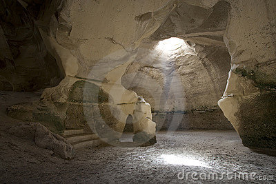 Horizontal image of the Bell Cave