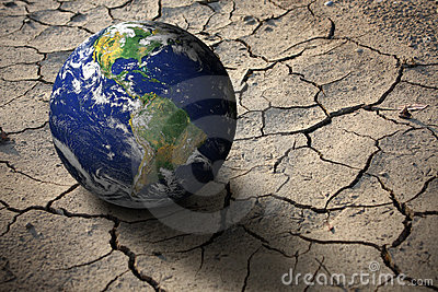Drought on planet Earth