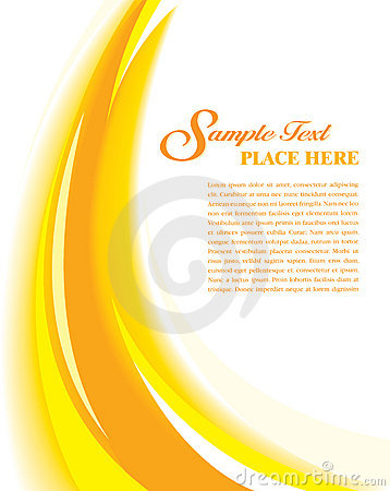 Cover Template Yellow