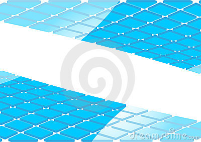 Vector abstract background with 3d square