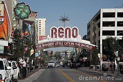 Reno Welcome Sign