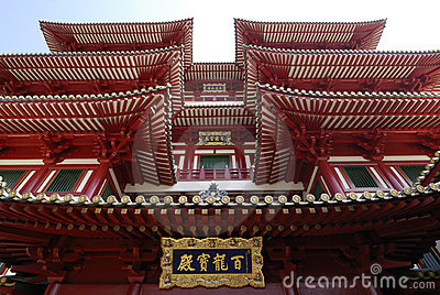The Buddha Tooth Relic Temple and Museum situated