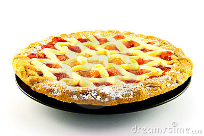 Apple and Strawberry Pie
