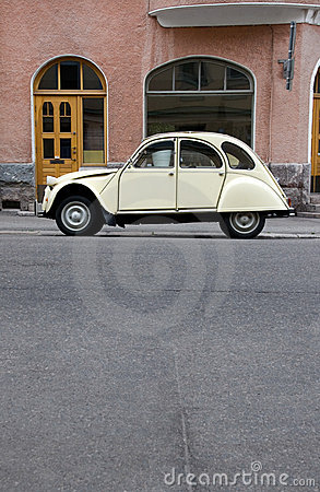 Small Old Car