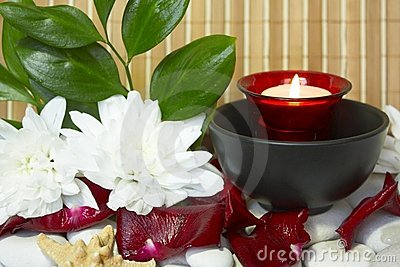 Spa candle