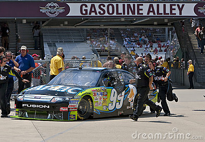 NASCAR:  Aflac Ford Allstate 400 at the Brickyard
